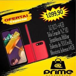 Aparelho Lacrado - LG K22 Plus 64GB Vermelho