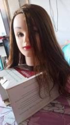 Vendo cabeça de boneca pra treinamento de cabeleireiro