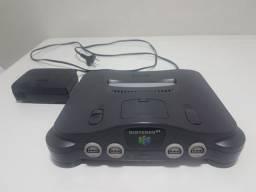Nintendo 64 funcionando 100% somente console e fonte