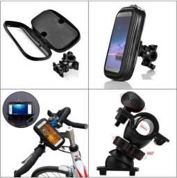 Suporte Capa Celular Prova D'águaMoto Bike Bicicleta Gps