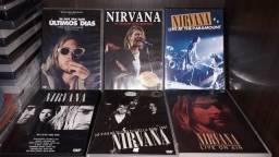 Kit Nirvana Kurt Cobain DVDs 6 originais