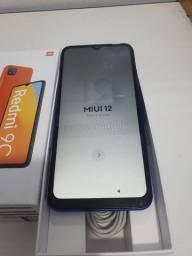 Xiaomi redmi 9c 64GB azul  lindo
