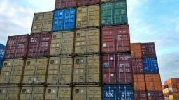 Container 20' e 40' pés dry e hc