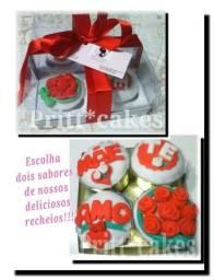 Cupcakes personalizados para o dia das mães