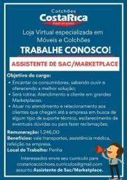 Assitente de Sac/ Markeplace