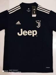 Camisa Juventus Away Adidas 20/21 - Tamanhos: P, M, G
