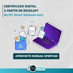 [Oferta] - Mv Smart - Certificado Digital A partir de 120,00