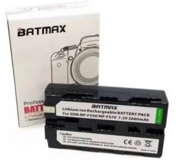 Bateria Do Li-íon De 2600mahnp-f550 Np F550