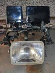 Suporte  de  Farol  e Painel  Original   Honda Nx 350 Sahara