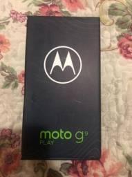 MOTO G9 PLAY 64GB NOVO LACRADO
