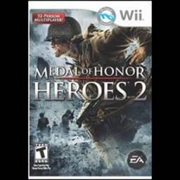 Jogo Wii Original Medal Of Honor Heroes 2 Europeu
