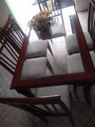 mesa com 6 cadeiras 780$