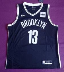 Camisa NBA Brooklyn (disponível: GG)