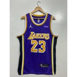 Camisa NBA Lakers bordada