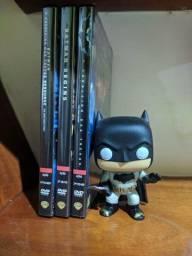 Trilogia Batman + funko pop