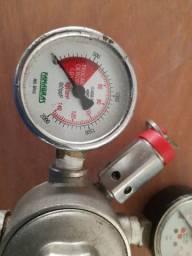 Regulador de CO2/ manômetro