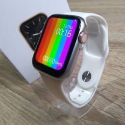 Smartwatch W26 (Preto ou Prata) - Original