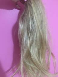 Mega hair loiro natural