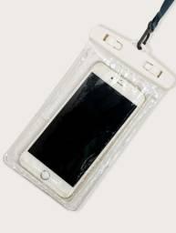 Capa para celular impermeável