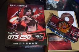 Placa de vídeo 1 Gb ECS Elitegroup GeForce GTS 250