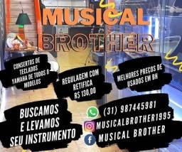 Manutenção de instrumentos de musicais na Musical Brother