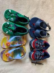 Calcados - sapatos 18, 19 e 20