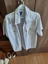 Camisa Branca Tm 12