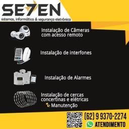 Sistemas de segurança instalação e manutenção