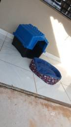 Casa e cama de cachorro