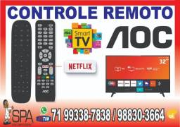 Controle Aoc LE43S5970 (Tecla Netflix)