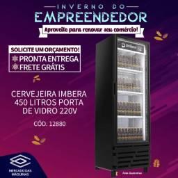 Título do anúncio: Freezer cervejeira Imbera 450 litros porta de vidro Nova Frete Grátis