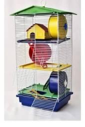 Gaiola hamster / roedores 3 andares
