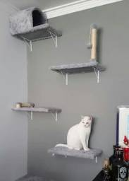 Arranhador tipo prateleiras para gatos