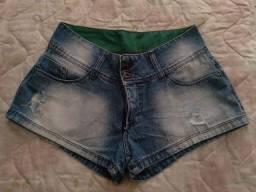 Bermudinha jeans tam 38