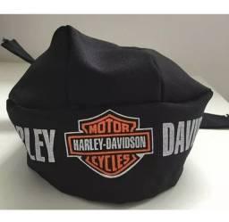 Bandana Harley Davidson nova de amarrar 3 tiras