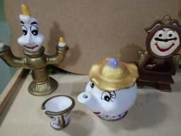 A Bela E A Fera ( Kit Porcelana Personagens)