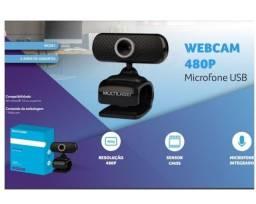 WebCam com microfone integrado imagem e som digital