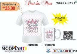 kit dia das mães camisa + caneca (personalizada) - * zap