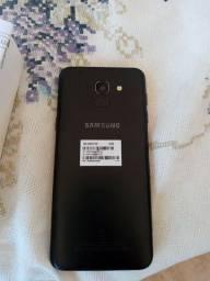Celular Sansung Galaxy J6 com placa queimada