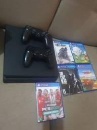 PS4 slim  somente  R$1.300