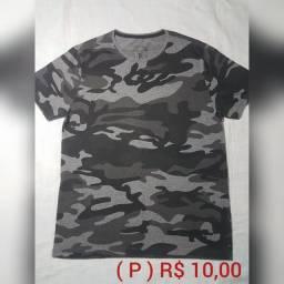 Camisas e Camisetas Tam. P