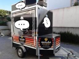 Food Truck Trailler Equipado
