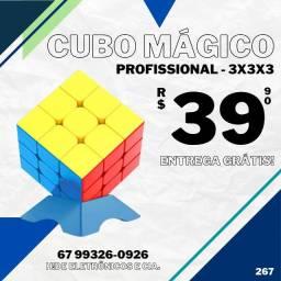 Cubo Mágico Profissional 3x3 e 4x4 (entrega grátis)
