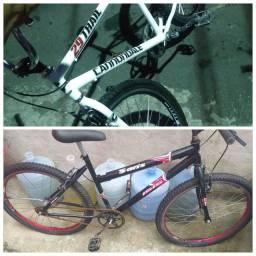 Bicicletas 850reais as duas