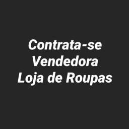 Contrata-se Vendedor(a) para Loja de Roupas Esportivas