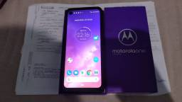 Moto one vision 128gb (completo)