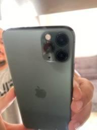 iPhone 11pro Max verde meia noite 256g