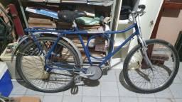 Bicicleta aro 26 barra circular