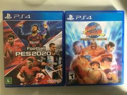 PES 20 e Street Fighter Collection