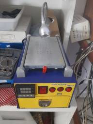 Máquina para troca de vídro de celular a vácuo com Câmara uv